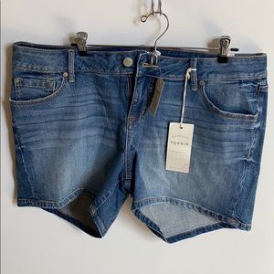 Torrid Denim Jean Shorts NWT